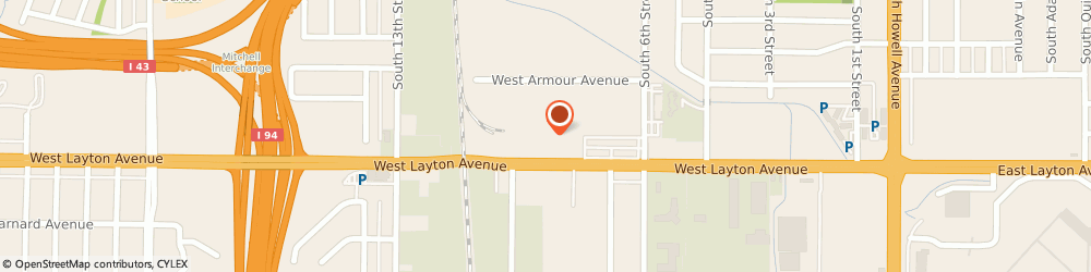 Route/map/directions to Public Storage, 53221 Milwaukee, 900 W Layton Ave