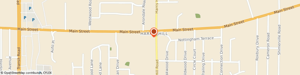 Route/map/directions to Harris Hill United Methodist Church, 14221 Williamsville, 8495 MAIN STREET