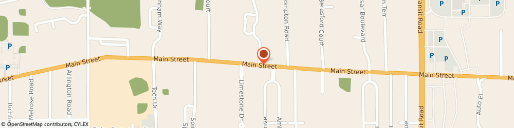 Route/map/directions to St John Cemetery-Breton Cemetery Service - Office, 14221 Buffalo, 6540 MAIN STREET
