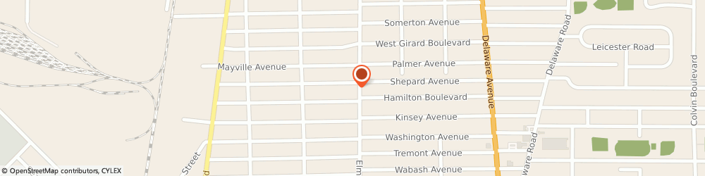 Route/map/directions to STATE FARM Andy Fagan, 14217 Kenmore, 2630 Elmwood Ave