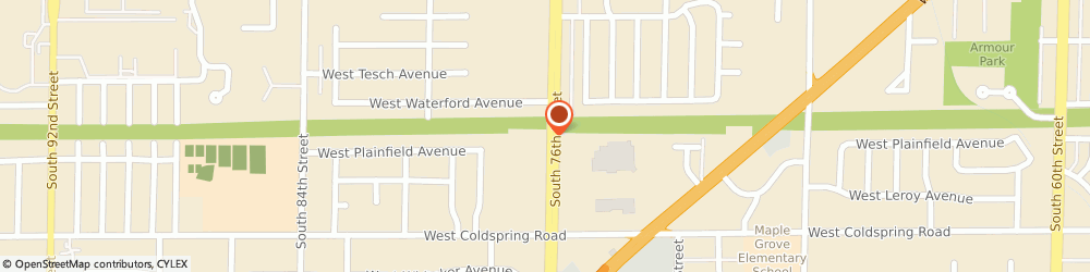 Route/map/directions to WEST MARINE Greenfield, 53220 Greenfield, 4141 S 76Th St