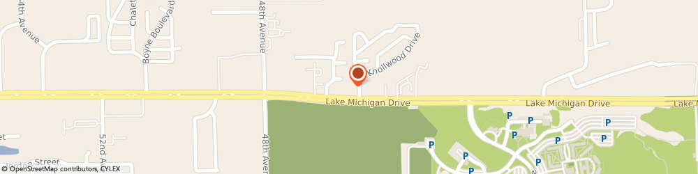 Route/map/directions to PNC BANK, 49401 Allendale, 4617 Lake Michigan Dr