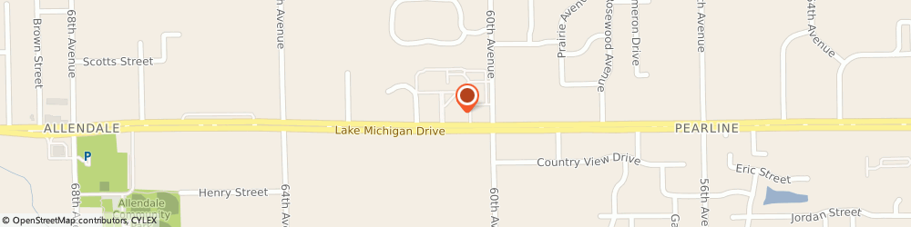 Route/map/directions to Huntington National Bank, 49401 Allendale, 6065 LAKE MICHIGAN DR