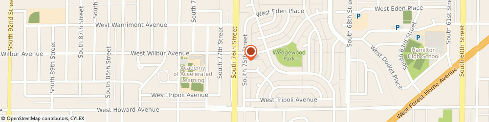 Route/map/directions to Great Clips, 53220 Milwaukee, 3723 S 75TH ST