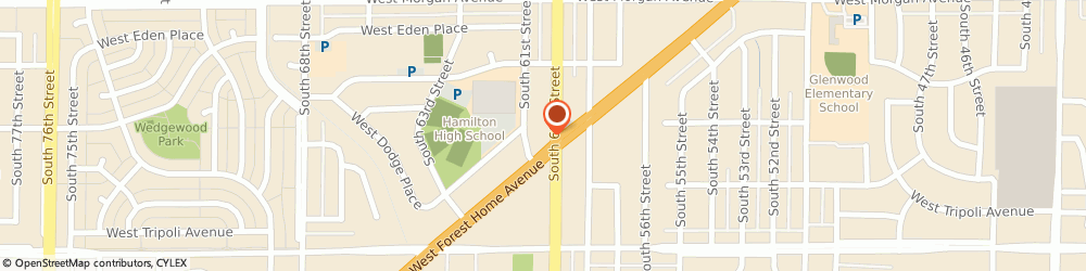 Route/map/directions to Jims Auto Mart, 53220 Milwaukee, 6000 WEST FOREST HOME AVENUE