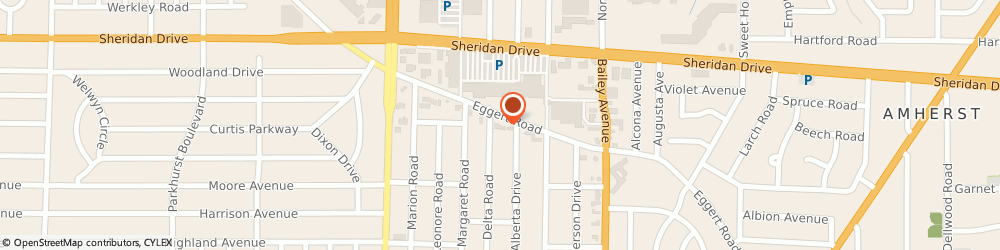 Route/map/directions to Brian Haseltine: Allstate Insurance, 14226 Amherst, 2066 Eggert Rd