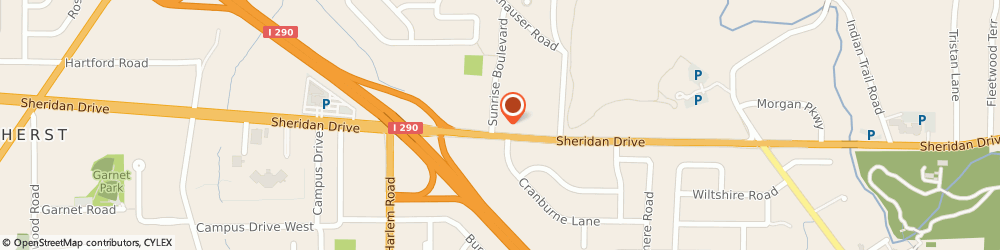 Route/map/directions to STATE FARM Connie Boswell, 14221 Williamsville, 4140 Sheridan Dr
