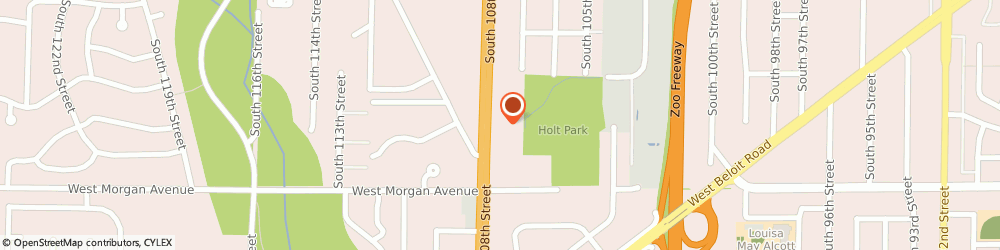 Route/map/directions to Greenfield 108th St KinderCare, 53227 Milwaukee, 3370 S 108th St