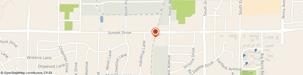 Route/map/directions to Caliber Collision, 53189 Waukesha, S31W24601 Sunset Drive
