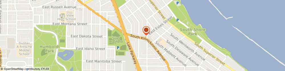 Route/map/directions to Knepper Brothers Inc, 53207 Milwaukee, 2892 S Kinnickinnic Ave