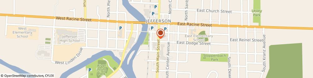 Route/map/directions to STATE FARM Eric Felth, 53549 Jefferson, 229 South Main St