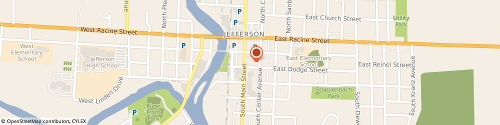Route/map/directions to Prudential Insurance Co, 53549 Jefferson, 230 S MAIN ST