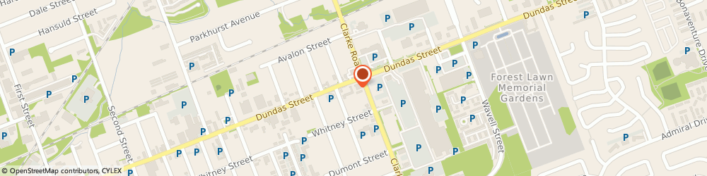 Route/map/directions to MONEY MART, N5W 3G3 London, 1905 Dundas Street E