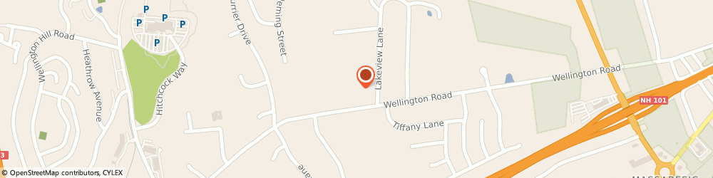 Route/map/directions to Church of the Nazarene, 03104 Manchester, 1308 Wellington Rd