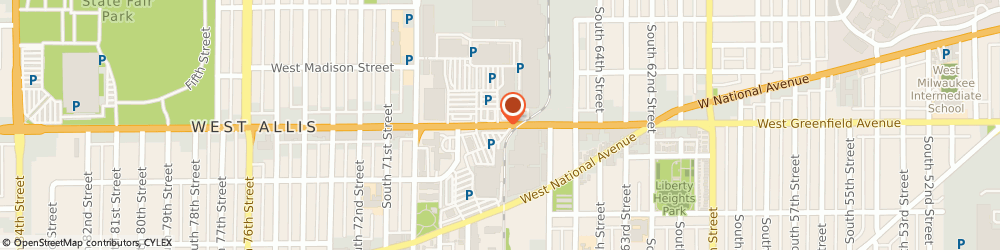 Route/map/directions to Great Clips, 53214 Milwaukee, 6760 W GREENFIELD AVE