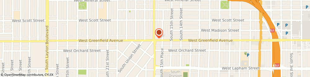Route/map/directions to Liberty Tax Service, 53204 Milwaukee, 1336 S Cesar E Chavez Dr