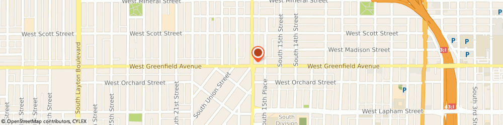 Route/map/directions to Liberty Tax Service Milwaukee, 53204 Milwaukee, 1334 S Cesar E Chavez Dr