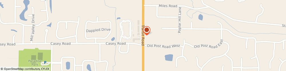 Route/map/directions to Tesmer Builders Inc, 14051 East Amherst, 8898 Transit Road