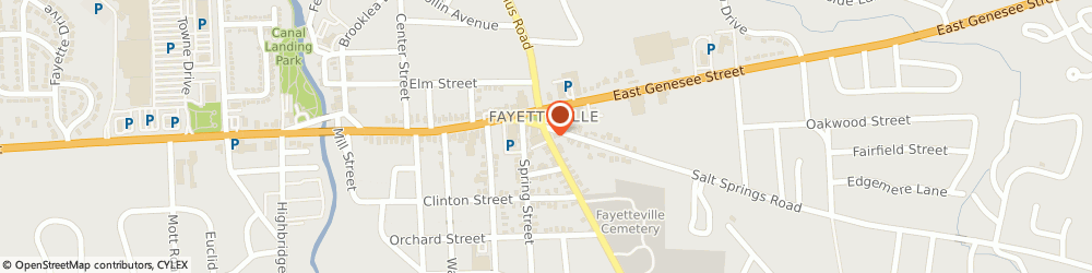 Route/map/directions to Village Ace Hardware, 13066 Fayetteville, 204 S MANLIUS ST