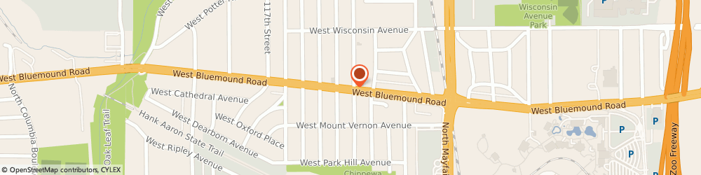 Route/map/directions to 7-Eleven Food Store, 53226 Milwaukee, 11216 W Bluemound Rd