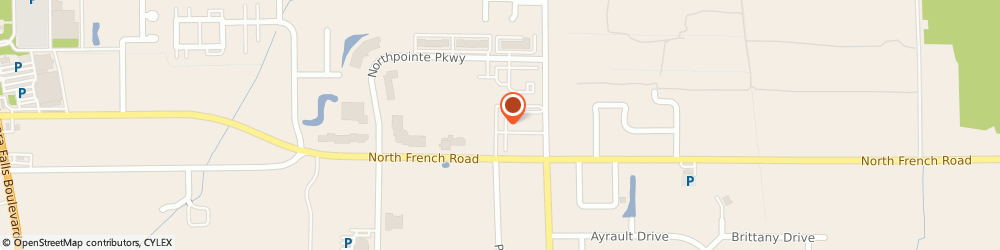 Route/map/directions to Bitar Sam Insurance Agency, 14228 Amherst, 656 N French Rd