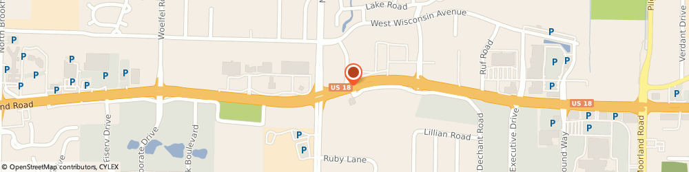 Route/map/directions to DuBois Formalwear, 53005 Brookfield, 17000 W Bluemound Rd