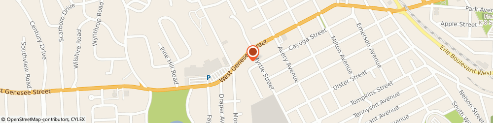 Route/map/directions to Safeco Insurance Agent, 13219-1613 Syracuse, 2005 W Genesee St