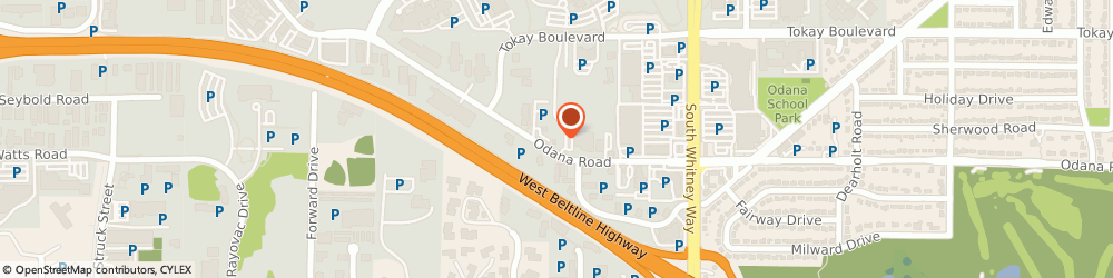 Route/map/directions to Drive Auto, 53719 Madison, 5632 Odana Rd