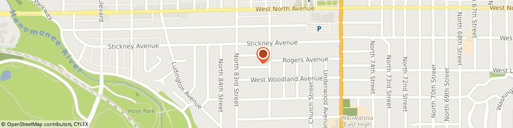 Route/map/directions to Kitchen Solvers, 53213 Milwaukee, 8134 Aberdeen Court