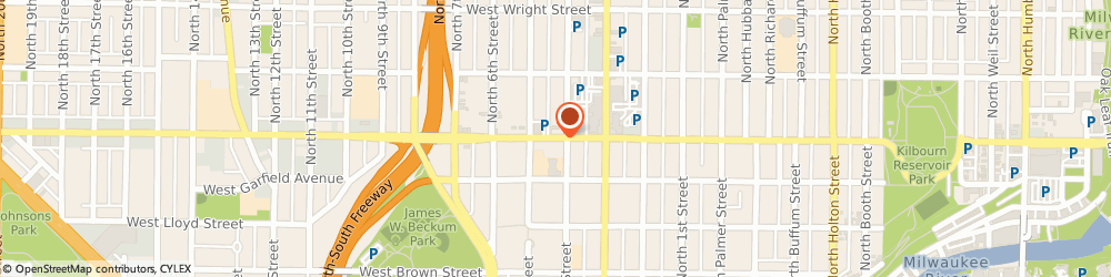 Route/map/directions to North Avenue Garage, 53212 Milwaukee, 428 E North Ave