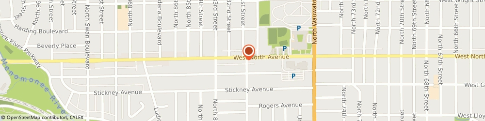Route/map/directions to Dependable Auto Service Inc, 53213 Wauwatosa, 8107 W North Ave