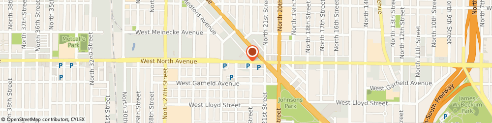 Route/map/directions to North Avenue Automotive, 53208 Milwaukee, 5714 W North Ave