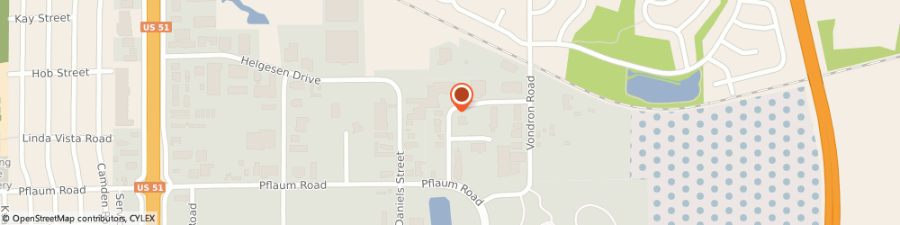 Route/map/directions to Kirch Appliance Inc, 53718 Madison, 2302 Mustang Way