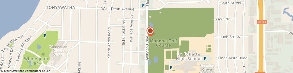 Route/map/directions to Living Well Counseling, 53716 Madison, 6117 Monona Drive #1