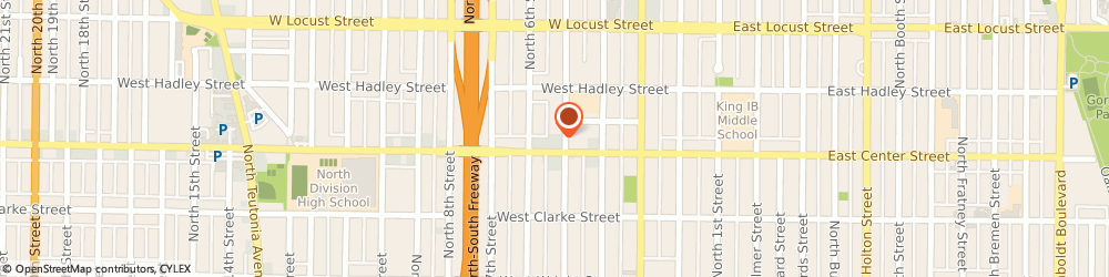 Route/map/directions to Adams Auto Body Shops, 53212 Milwaukee, 2719 N 5Th St
