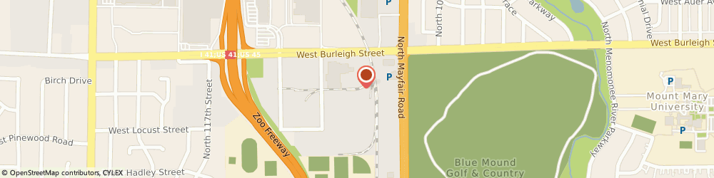 Route/map/directions to Starbucks Coffee, 53222 Milwaukee, 11111 W Burleigh St