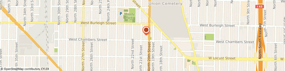 Route/map/directions to Chief Enterprise, 53206 Milwaukee, 3572 N 14TH ST # A