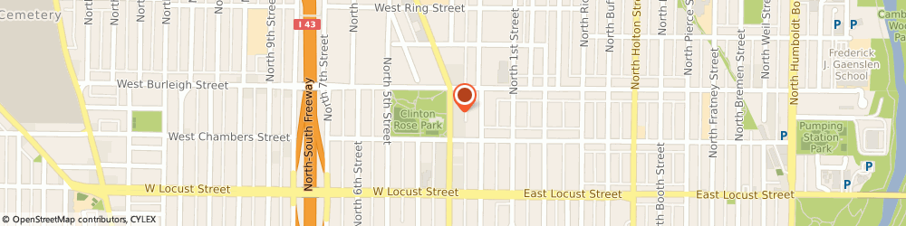 Route/map/directions to All-Make Radiator Repair, 53212 Milwaukee, 3048 N Dr Martin Luther King Dr