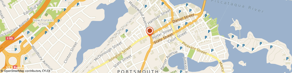 Route/map/directions to Safeco Insurance Agent, 03801-7204 Portsmouth, 7 Islington St