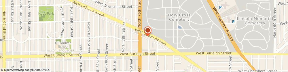 Route/map/directions to Lisbon Sales and Service, 53216 Milwaukee, 7515 W Lisbon Ave