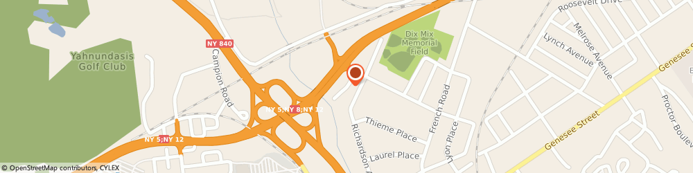 Route/map/directions to Scalzo Zogby & Wittig Inc, 13502 Utica, 120 Lomond Court