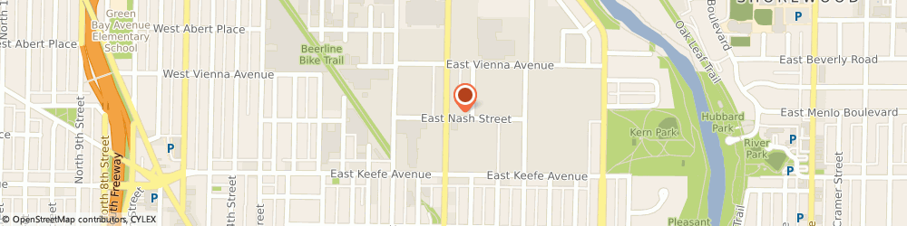 Route/map/directions to R K Motor, 53212 Milwaukee, 3700 North Holton Street
