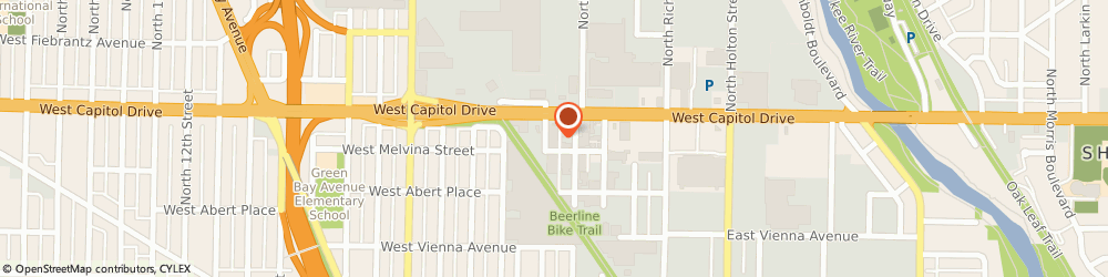 Route/map/directions to Pinkey's Capital Auto Body, 53212 Milwaukee, 120 W Melvina St