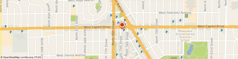 Route/map/directions to Take 5 Oil Change, 53216 Milwaukee, 7515 West Capitol Dr