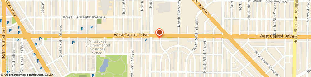 Route/map/directions to Liberty Tax Service, 53216 Milwaukee, 5821 W Capitol Dr