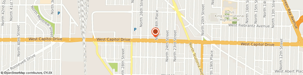 Route/map/directions to Holmes Auto Inc, 53206 Milwaukee, 2462 W CAPITOL DR