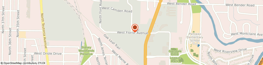 Route/map/directions to Ada Products Div Of Block Drug Corporation, 53209 Milwaukee, 2350 WEST FLORIST AVENUE