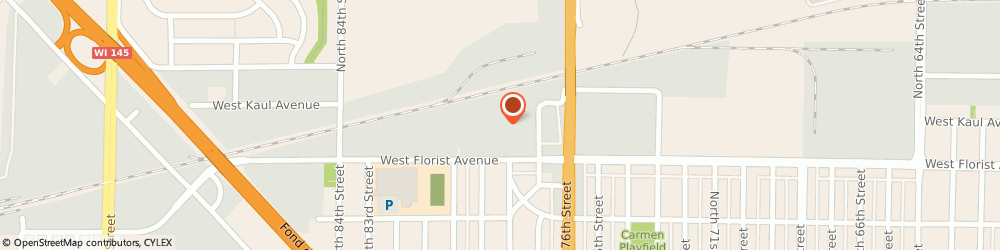 Route/map/directions to Public Storage, 53218 Milwaukee, 6049 N 77th Street
