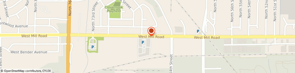 Route/map/directions to Club Assist Road Svc, 53218 Milwaukee, 6639 W Mill Rd