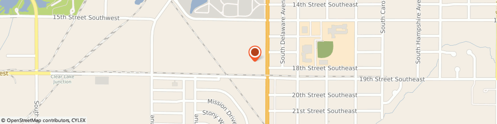Route/map/directions to Maytag Retailer, 50401 Mason City, 1720 South Federal Avenue